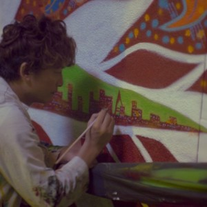 【Asian Journey2-13】日本と香港を文化で結ぶ1-ART 香港島・セントラルに登場 香取慎吾さん作ストリート・アート『大きなお口の龍の子(大口龍仔)』
