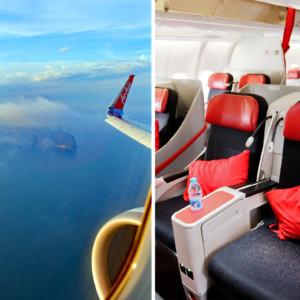 プレミアムフラットベッドでとっておきの空の旅 タイ・エアアジアXのビジネスクラスでプーケットへ