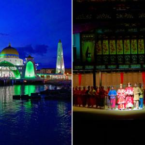【Asian Journey4-5】世にも美しい海上モスク&『アンコール・マラッカ』で知るマラッカの歴史 ~マラッカのナイトシーン~